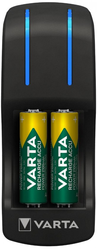 Nabíjacie batérie, nabíjačky Nabíjačka batérií Varta Pocket charger, 4xAA, 2600mAh
