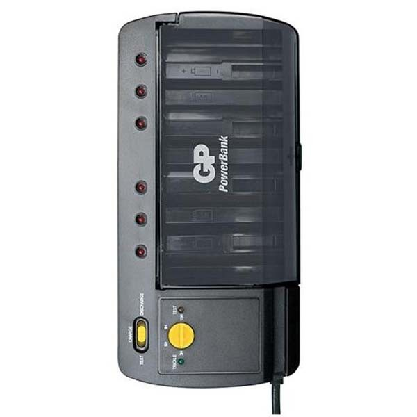 Nabíjacie batérie, nabíjačky Nabíjačka GP PowerBank GP PB S320 čierna