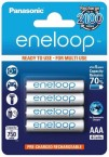 Nabíjacie batérie Panasonic Eneloop R03 / AAA 750mAh, 4 ks