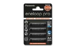 Nabíjacie batérie Panasonic Eneloop R6 / AA 2500mAh, 4 ks