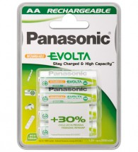 Nabíjacie batérie Panasonic NiMh, prednabité, AA, 1900mAh, 4ks