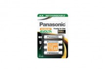 Nabíjacie batérie Panasonic NiMh, prednabité, AA, 2450mAh, 4ks