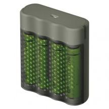 Nabíjačka batérií GP B53457 Speed + 4xAA ReCyko