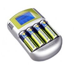 Nabíjačka batérií Varta LCD charger 4xAA2400 + 12V + USB