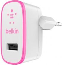 Nabíjačka Belkin 1xUSB 2,1 A, biela/ružová