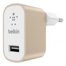 Nabíjačka Belkin 1xUSB 2,4A, zlatá