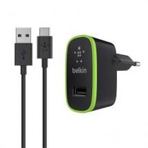 Nabíjačka Belkin s káblom USB Typ C, čierna
