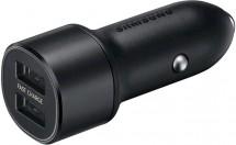 Nabíjačka do auta Samsung 2xUSB, 15 W, čierna