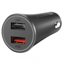 Nabíjačka do auta Xiaomi Mi 37W Dual-Port Car Charger, čierna