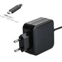 Nabíjačka na notebook Akyga AK-ND-70, 65 W, USB-C Power Delivery