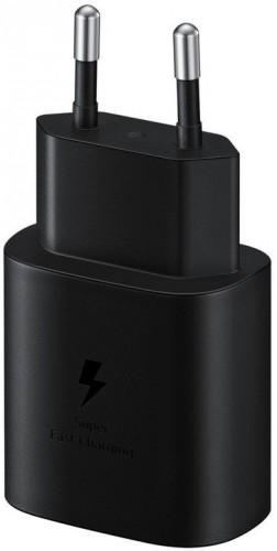Nabíjačka Samsung 1x USB Typ C, 25W + USB kábel Typ C, čierna