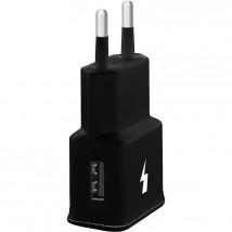 Nabíjačka WG 1xUSB 2A, 15W Fast Charge 3.0, čierna