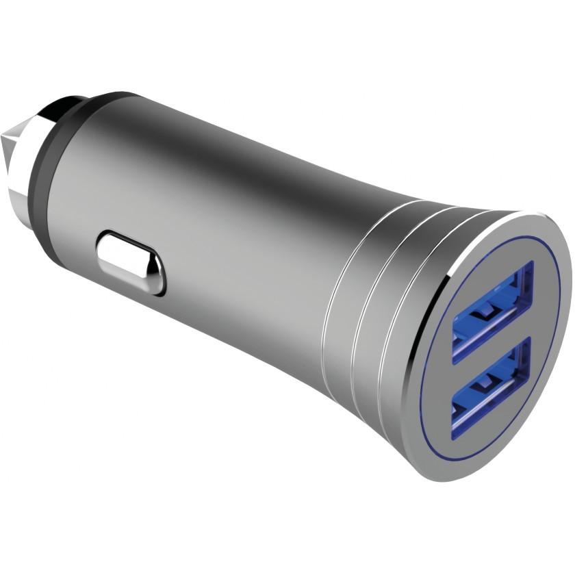 Nabíjačky do auta Autonabíjačka WG 2xUSB 3,1A + kábel USB Typ C