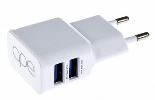 Nabíjačky do siete Nabíjačka Apei 2xUSB 3,1A s rýchlonabíjaním + kábel Micro USB