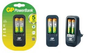 Nabíječka baterií GP PB560 + 2x AA NiMH2700