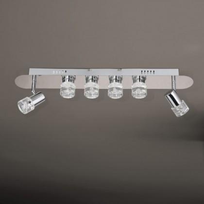 NÁBYTOK Antibes - Kúpeľňové svietidlo, LED (chróm)