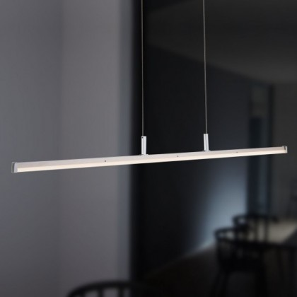 NÁBYTOK Horton - Stropné osvetlenie, LED (matný nikel/chróm)