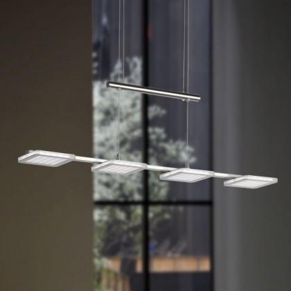 NÁBYTOK Laurids - Stropné osvetlenie, LED (matný nikel)