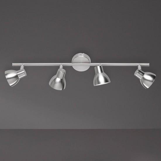 NÁBYTOK Lester - Stropné osvetlenie, LED (nikel)