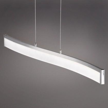 NÁBYTOK Louvre - Stropné osvetlenie, LED (matný nikel/chróm)