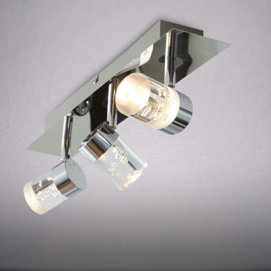 NÁBYTOK Maar - Kúpeľňové svietidlo, LED (chróm)