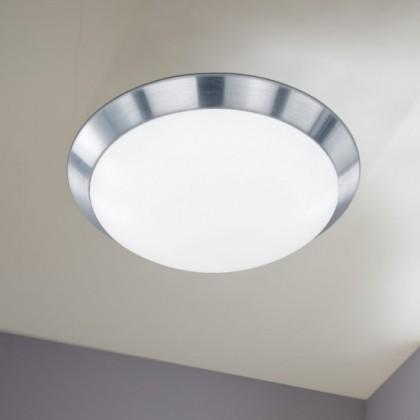 NÁBYTOK Mara - Kúpeľňové svietidlo, LED (kartáčovaný hliník)