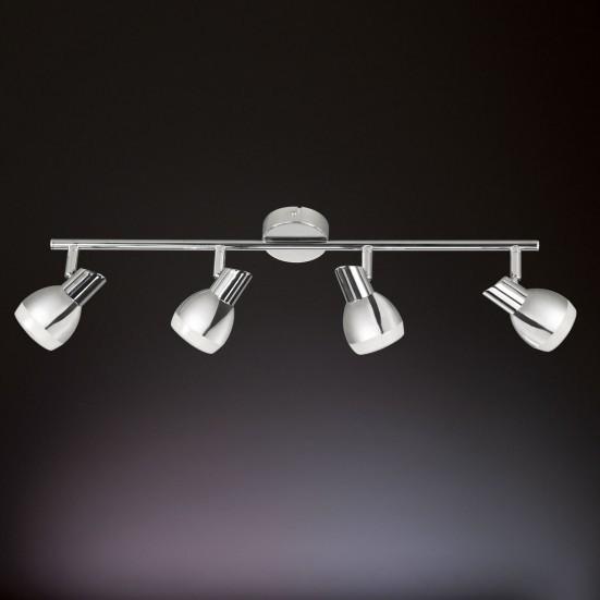 NÁBYTOK Nantes - Stropné osvetlenie, LED (chróm)