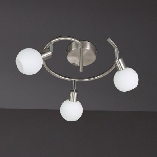 NÁBYTOK Nois - Stropné osvetlenie, LED (nikel)