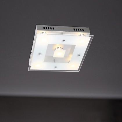 NÁBYTOK Sphinx - Nástenné svietidlo, LED (chróm)