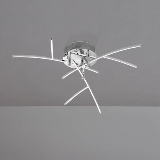 NÁBYTOK Troy - Stropné osvetlenie, LED (chróm)