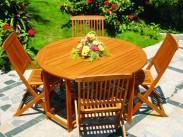 Nábytok záhradný 5-dielny monterey (prírodná)