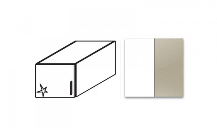 Nádstavcová nádstavec na Celle, 1x dvere, ľavý