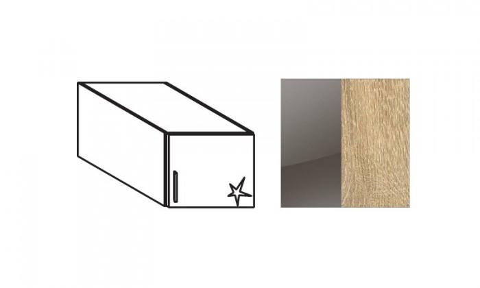Nádstavcová nádstavec na Celle, 1x dvere, pravý