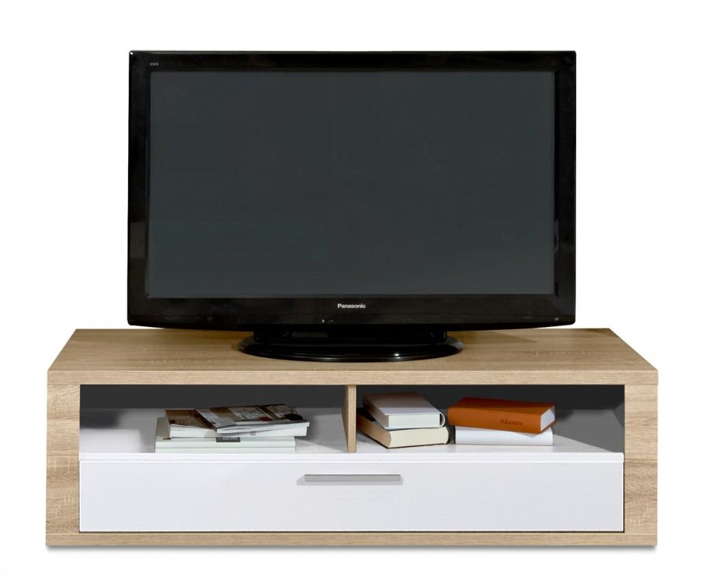 Nádstavec Cool - TV prvek (dub HN/biela)