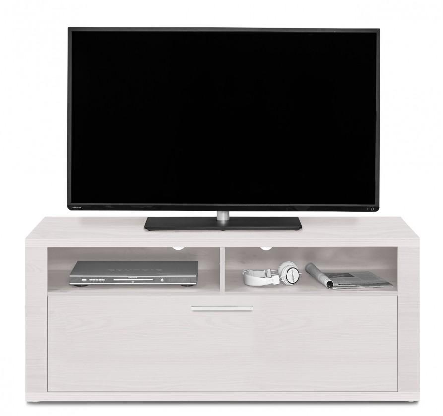 Nádstavec Cool - TV prvek s klopnou (smrekovec biely/smrekovec biely)