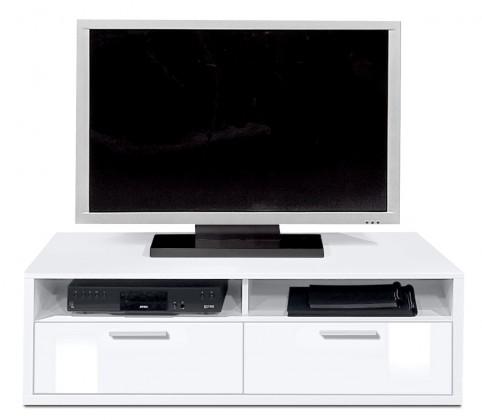 Nádstavec Game plus - TV prvok, 123 cm (biela/biela lak HG)