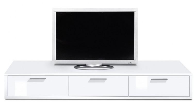 Nádstavec Game plus - TV prvok, 180 cm (biela/biela lak HG)