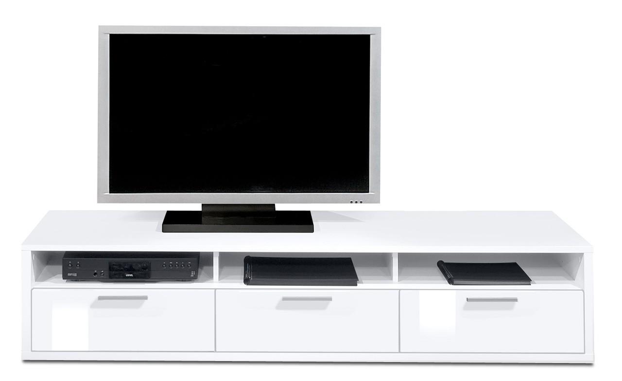 Nádstavec Game plus - TV prvok, 181 cm (biela/biela lak HG)