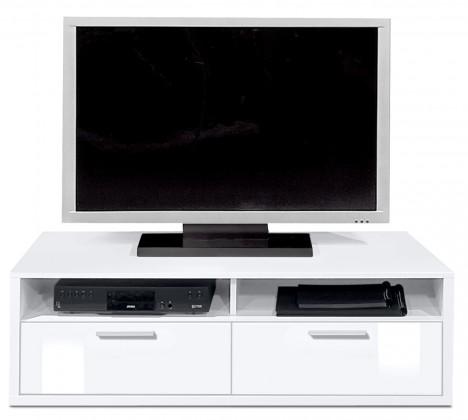 Nádstavec Game - TV prvok, 123 cm (biela/biela)