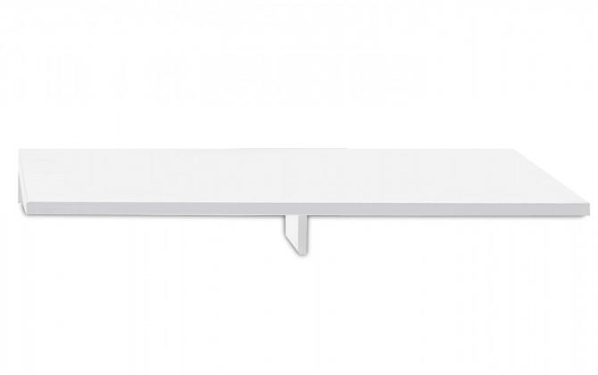 Nádstavec Linea - TV nastavba, 120 cm (biela)