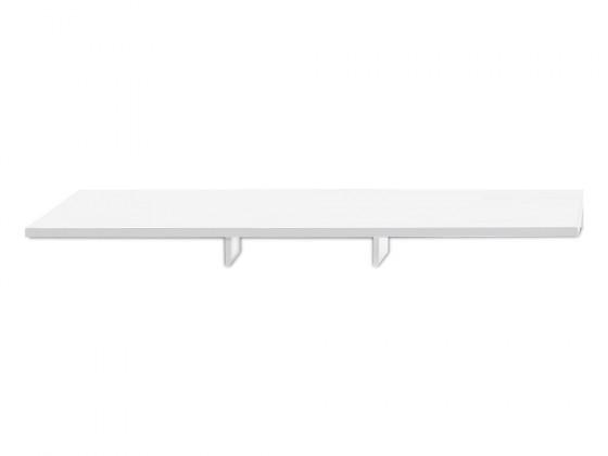 Nádstavec Linea - TV nastavba, 180 cm (biela)