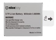 Náhradná batéria pre Niceboy PANO