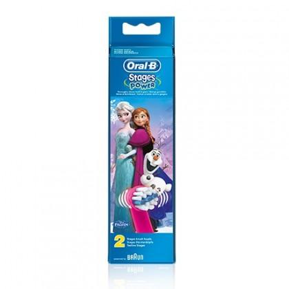 Náhradná hlavica Náhradná kefka Oral-B EB 10-2 Kids Frozen