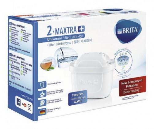 Náhradné filtre do kanvice Náhradné filtre do filtračnej kanvice Brita Maxtra Plus, 2ks