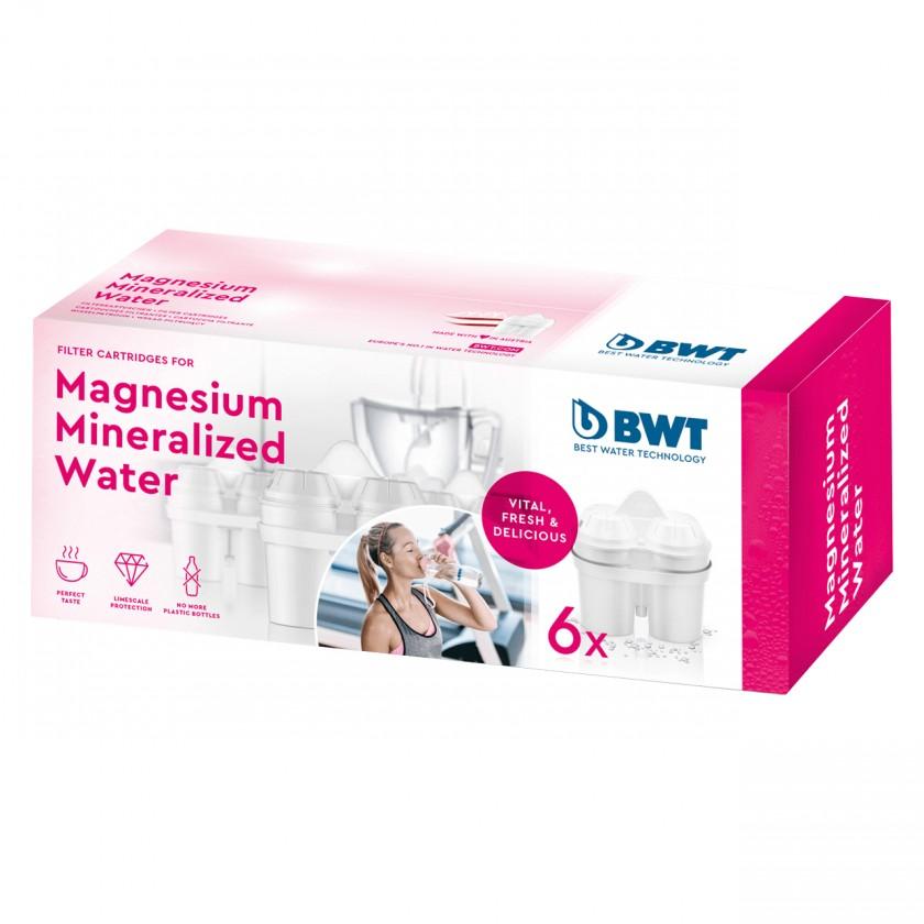 Náhradné filtre do kanvice Náhradné filtre pre filtračné kanvice BWT, 6ks