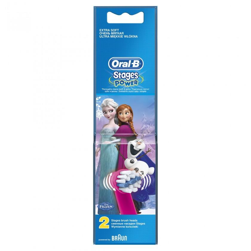 Náhradné hlavice Náhradná kefka Oral-B EB 10-2 Kids Frozen