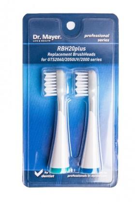 Náhradné hlavice Náhradné kefky Dr.Mayer RBH20 Plus, 2ks