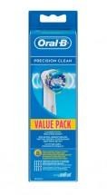 Náhradné kefky Oral-B Precision Clean EB 20-8, 8ks
