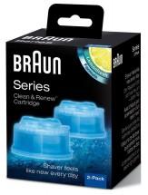 Náhradné náplne do čistiacich staníc Braun CCR2, 2ks