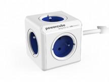 Napájací adaptér PowerCube Extended 5 zásuviek modrá, 1,5m
